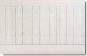 画像1: 写経用紙 点入写経 (1)