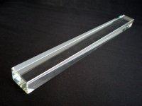 画像1: クリスタルガラス文鎮 角33cm