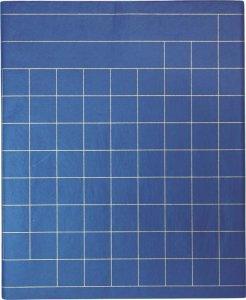画像1: 半切写経用紙 般若心経用 藍紙10枚 (1)