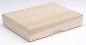画像1: 写経用紙収納用桐箱  (1)