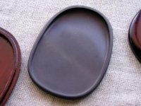画像2: 端渓硯麻子坑 楕円硯 4インチ