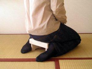 画像1: 正座用椅子 (1)