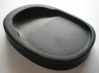 画像1: 羅紋硯 楕円硯 4インチ