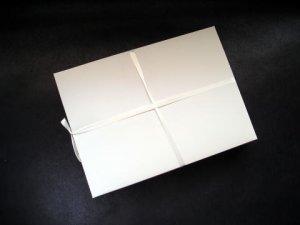 画像1: 罫線無 半紙サイズ つれづれ 1000枚 (1)
